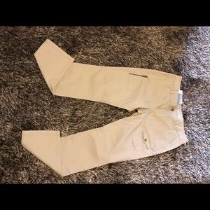 Old Navy Beige Low Rise Skinny Stretch Cargo